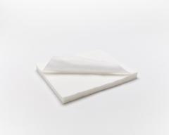 Салфетки (Спанлейс, белый, 45х45 см, 100 шт/упк, стандарт)