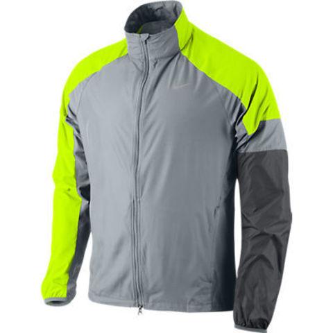 Ветровка Nike Windfly Jacket серо-салатовая