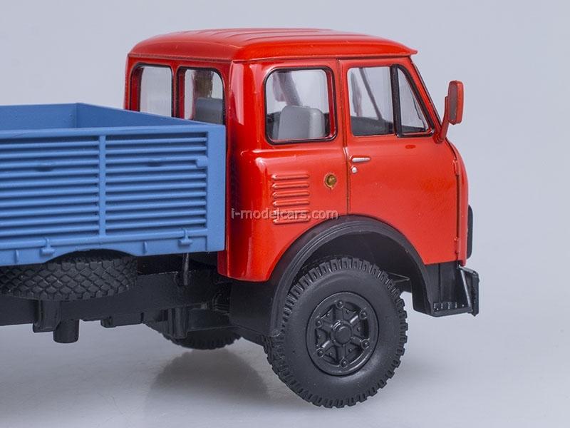 MAZ-5335 board red-blue 1:43 Nash Avtoprom