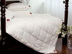 Элитное одеяло кассетное 200х220 German Grass Non-Allergenic Premium белое