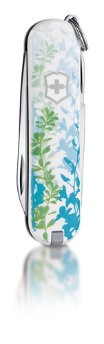 "Нож-брелок Victorinox Classic LE 2011, 58 мм, 7 функ, ""Breeze of Nature""  (0.6223.L1105)"