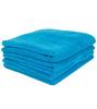 Элитный коврик для ванной Fyber бирюзовый тонкий от Carrara