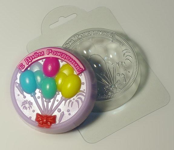 С Днем Рождения! (2) форма для мыла
