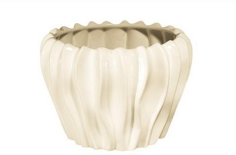Элитная ваза декоративная Cream средняя от Sporvil