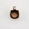 Сеттинг - основа - подвеска для страза 6 мм (29ss) (оксид меди) ()
