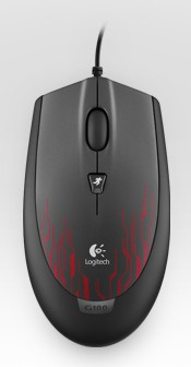 LOGITECH G100 Gaming Mouse Red