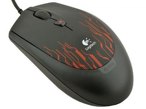 Мышь LOGITECH G100 Red