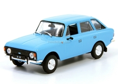 IZH-21251 blue 1:43 DeAgostini Auto Legends USSR #134