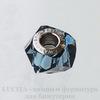 5928 Бусина Сваровски BeCharmed Helix Montana 14х9 мм ()