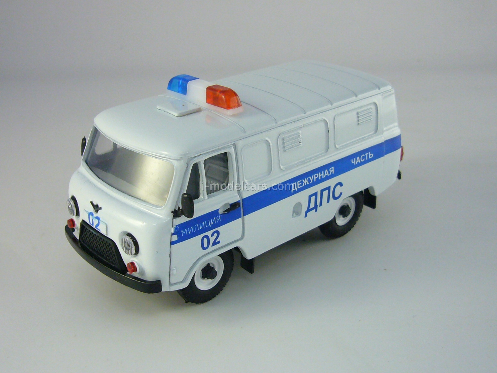 UAZ-3741 DPS Road Police 1:43 Agat Mossar Tantal