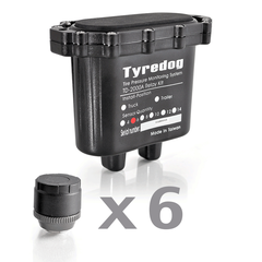 Датчики давления в шинах (TPMS) Carax CRX-1012/6 с 6-ю датчиками