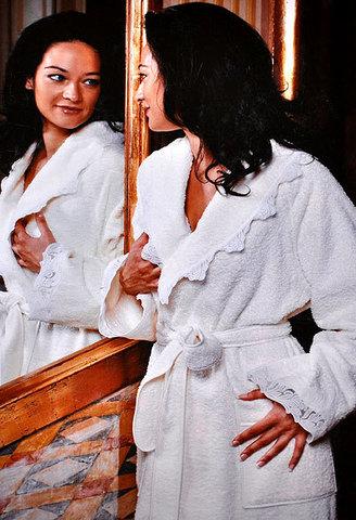 Элитный халат махровый Virginia от Timas