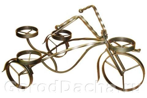 Подставка для цветов «Велосипед»