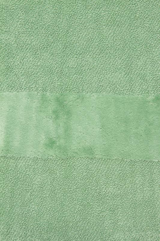 Элитный коврик для ванной Fyber фисташковый тонкий от Carrara