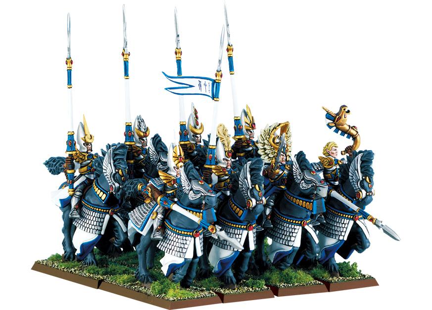 High Elf Silver Helm Regiment