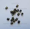 Кримпы - зажимные бусины (трубочки) 2,5х2,5мм (цвет - античная бронза) 2гр, около 105-115 шт