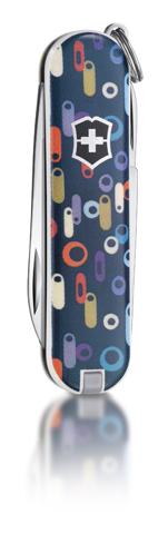 "Нож-брелок Victorinox Classic LE 2011, 58 мм, 7 функ, ""Roaring Sixties""  (0.6223.L1106)"