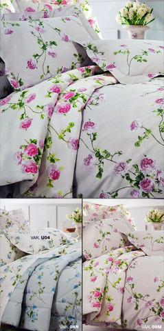 Постельное белье 1.5 спальное Mirabello Scented Rose белое