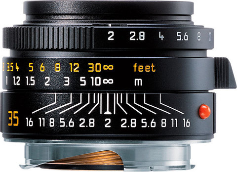Leica Summicron-M 35mm f/2.0 ASPH (black)