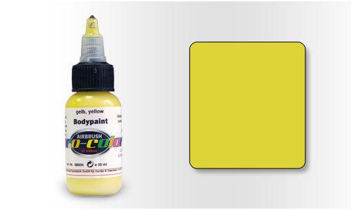 68004 Краска для Бодиарта Pro-Color Yellow (Желтый) 30мл.