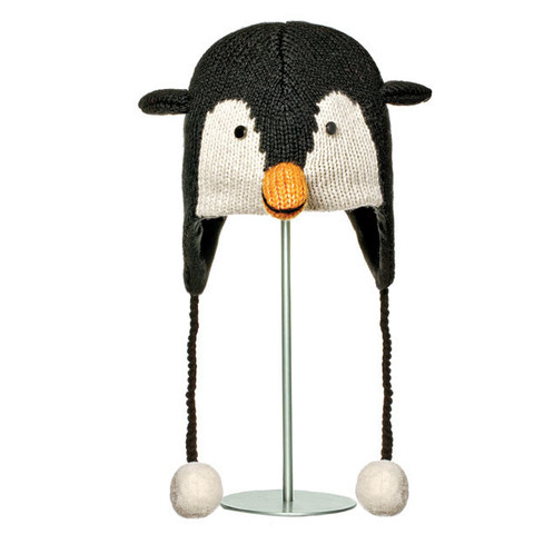 шапка с ушами Knitwits Peppy the Penguin
