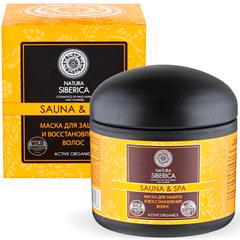 Маска Natura Siberica для защиты и восстановления волос Sauna&SPA