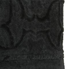 Элитный халат-кимоно велюровый Logo тёмно-серый от Roberto Cavalli
