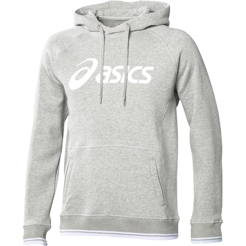 Толстовка Asics Logo Hoodie Grey