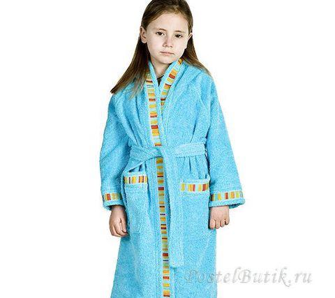 Элитный халат детский махровый Yupi от Caleffi
