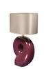 Элитная лампа настольная Визеу сиреневая от Sporvil