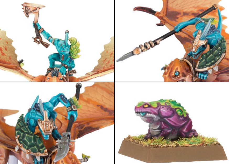 Lizardmen Terradon/Ripperdactyl Riders