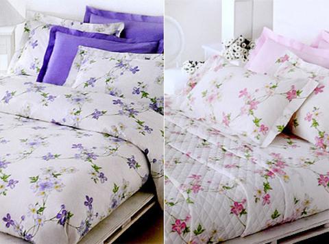 Постельное белье 1.5 спальное Mirabello Vine Flowers лиловое