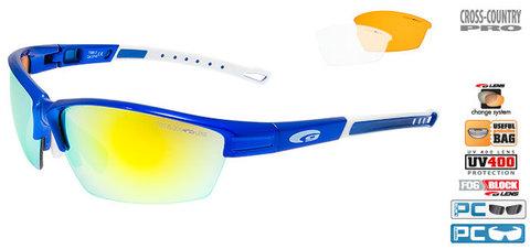 Солнцезащитные очки goggle COLLOT blue