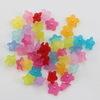 Бусина акриловая Цветочек маленький Микс 10х4 мм, примерно 200 штук ()