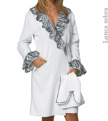 Элитный халат махровый Lanca Zebra от Timas