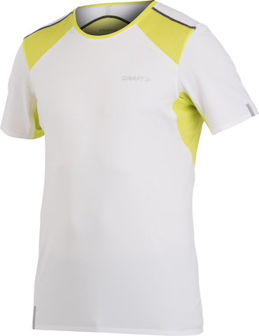Футболка Craft Elite Run V-Neck white мужская