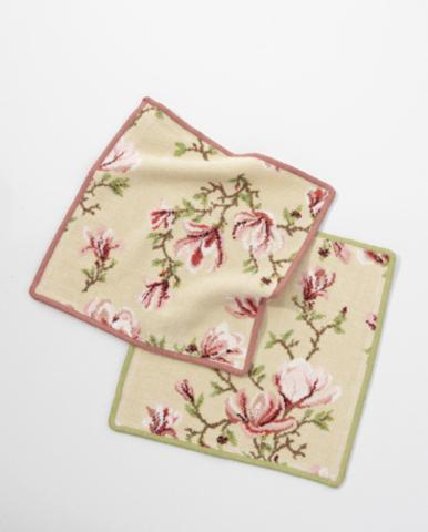 Элитная салфетка шенилловая Magnolia beige 124 altrosa от Feiler
