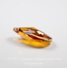 6106 Подвеска Сваровски Капля Crystal Copper (16 мм)