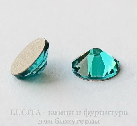 2058 Стразы Сваровски холодной фиксации Blue Zircon ss12 (3,0-3,2 мм), 10 штук ()