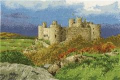 Набор для вышивания DMC. Harlech Castle