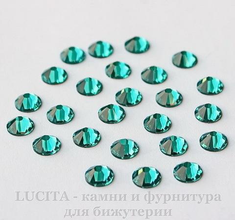 2028/2058 Стразы Сваровски холодной фиксации Blue Zircon ss12 (3,0-3,2 мм), 10 штук