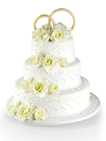 Свадебный торт №1