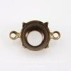 Сеттинг - основа - коннектор (1-1) для страза 9 мм (41ss) (оксид латуни) ()