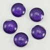 Кабошон стеклянный фиолетовый 12х4 мм ()