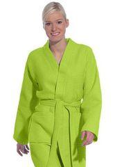 Элитный халат вафельный Rom meadow green от Vossen
