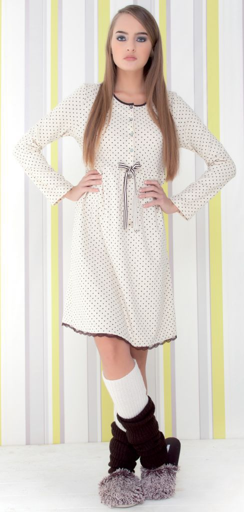 Женская сорочка для дома Rebecca & Bros (Домашние платья и ночные сорочки)