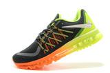 Кроссовки Мужские Nike Air Max 2015 Grey Orange Green