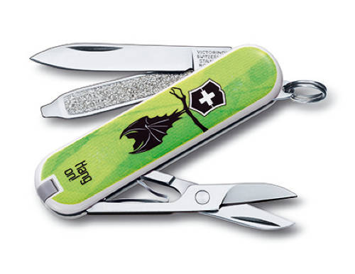 "Нож-брелок Victorinox Classic LE 2013, 58 мм, 7 функций, ""Heads Up"""