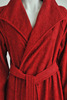 Элитный халат махровый Waterside красный от Hamam