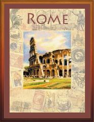 Набор для вышивания Riolis Города мира. Рим.